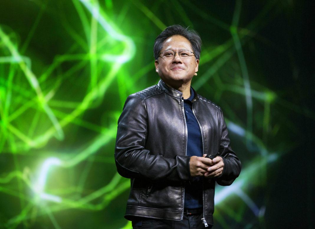 "Jen-Hsun ""Jensen"" Huang CEO di Nvidia che parla di deep learning"