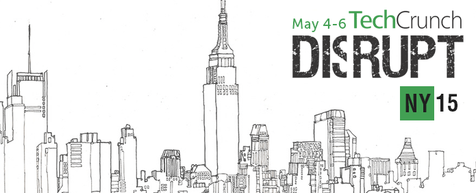 Evento Tech Crunch Disrupt NY 2015