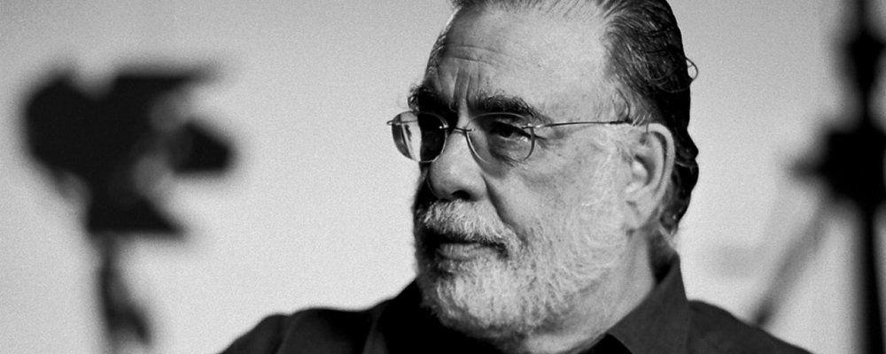 Francis Ford Coppola in bianco e nero