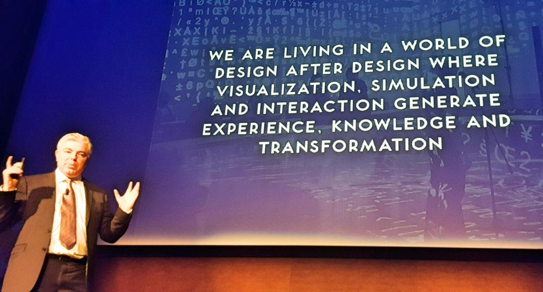 lecture di Luigi Ferrara sul design