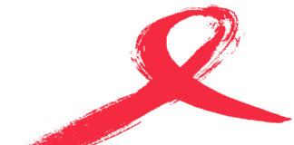 nastro rosso simbolo dell'aids