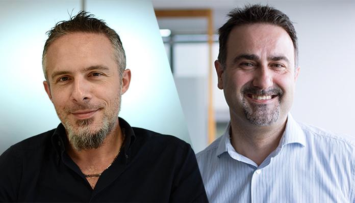 i project manager Flavio Cominardi e Diego Perrotta