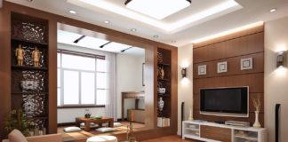 salotto di una smart home