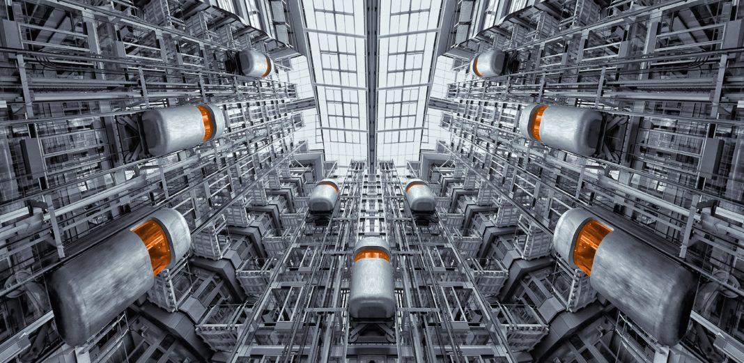 complesso industriale di industria 4.0