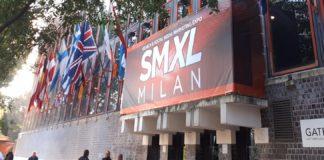 Striscione di SMXL Milan