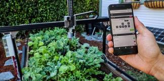 app di farmbot su smartphone