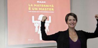 Riccarda Zezza illustra come la maternità è un master
