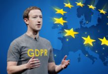 Mark Zuckerberg talking about GDPR