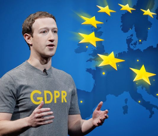Mark Zuckerberg talking about GDPR
